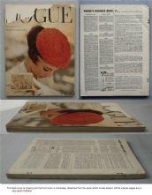 Vogue Magazine - 1954 - March